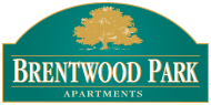 Logo for Brentwood Park Apartments, near Omaha